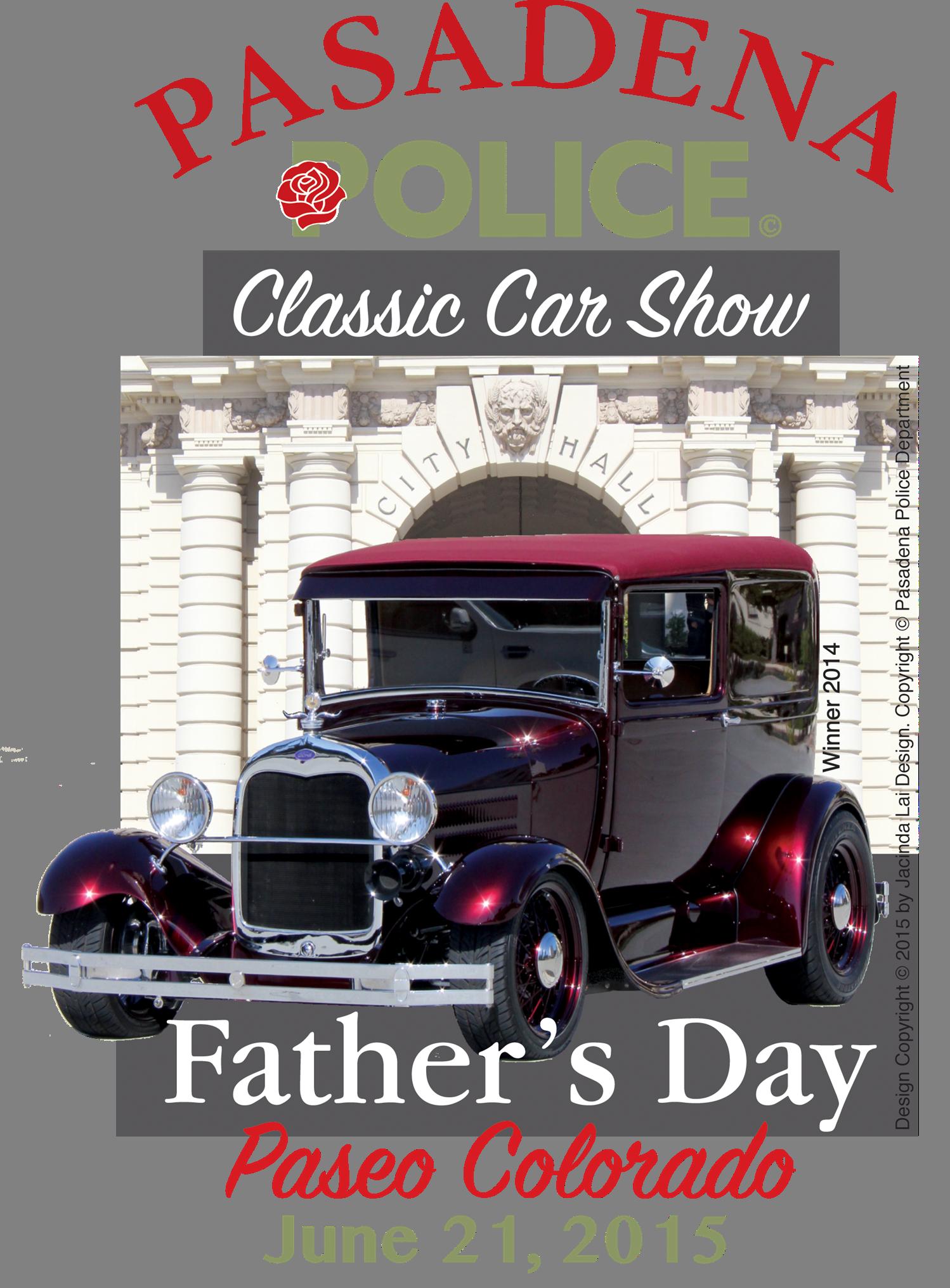 Pasadena Police Classic Car Show June What To Do In - Pasadena car show